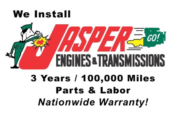 Jasper Engines and Transmissions installed here!